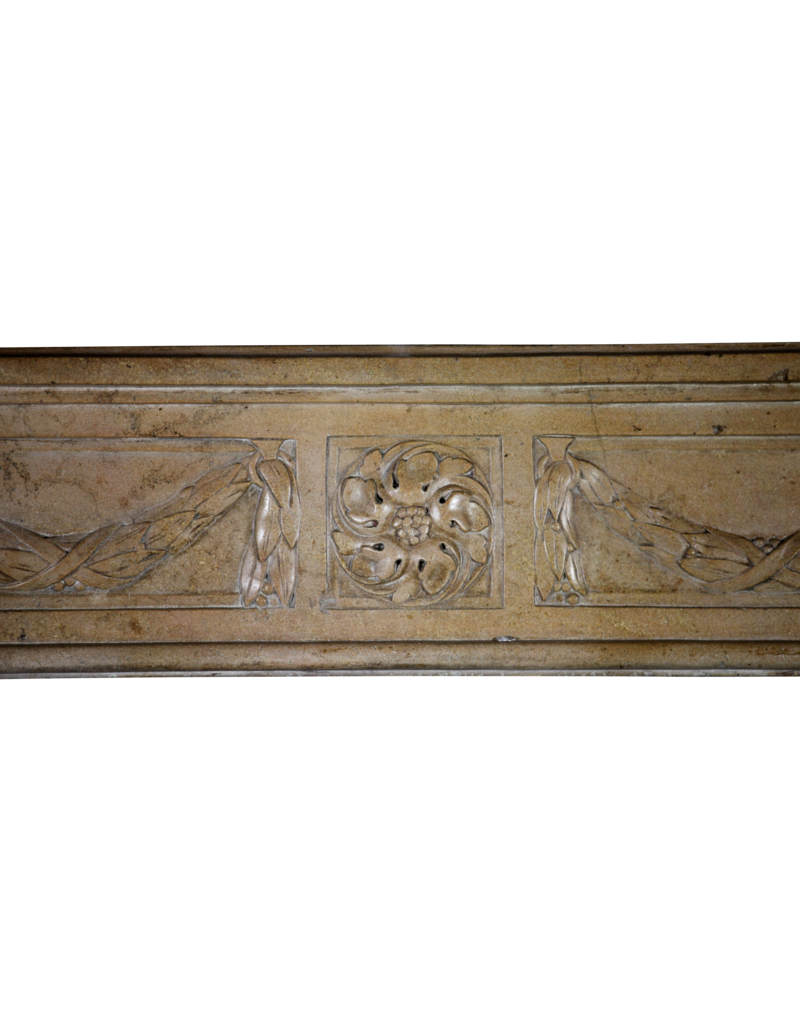 The Antique Fireplace Bank Fantastische Epoche Louis XVI Französisch Landstil Chique Kamin Maske