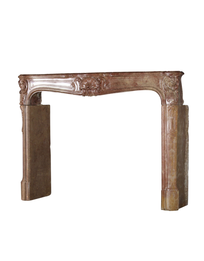The Antique Fireplace Bank Classic Chique French Vintage Fireplace Surround In Hard Stone