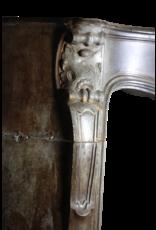 18. Jahrhundert Starke Französisch Antique Kamin Maske