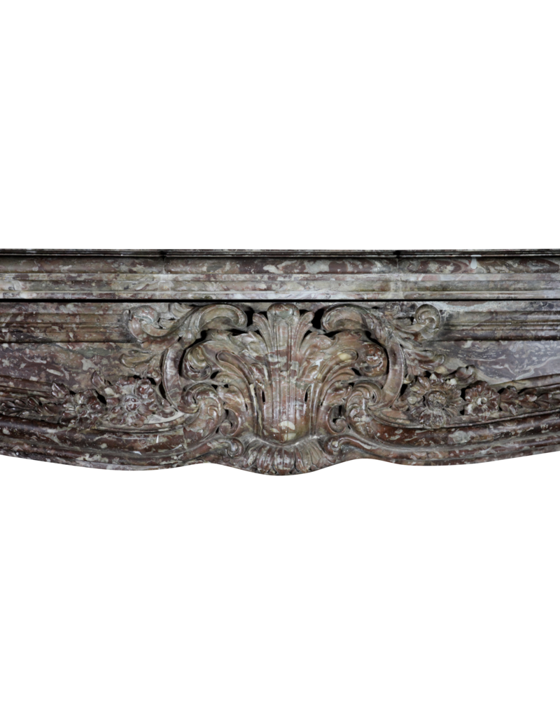 The Antique Fireplace Bank Extreme Grand Belgian Marble Vintage Fireplace Surround