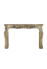 The Antique Fireplace Bank French Chique Country Style Limestone Grand Fireplace Surround
