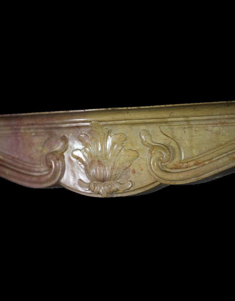 Feines Französisch Antike Marmor Stein Kamin