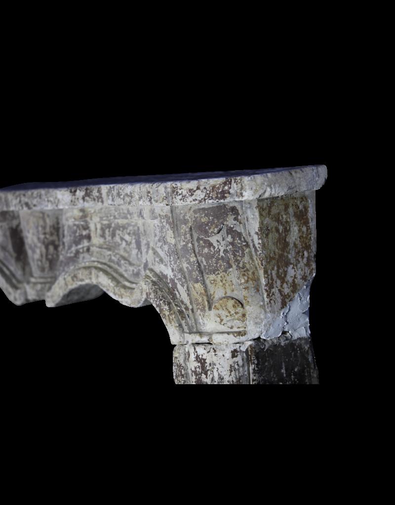 Italienisch Chique Land Kalkstein Kamin Verkleidung