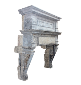The Antique Fireplace Bank Grand French Chique Renaiscance Period Antique Fireplace Surround