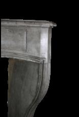 Gran Siglo 18 Francés Duro Piedra Antigua Chimenea De La Chimenea