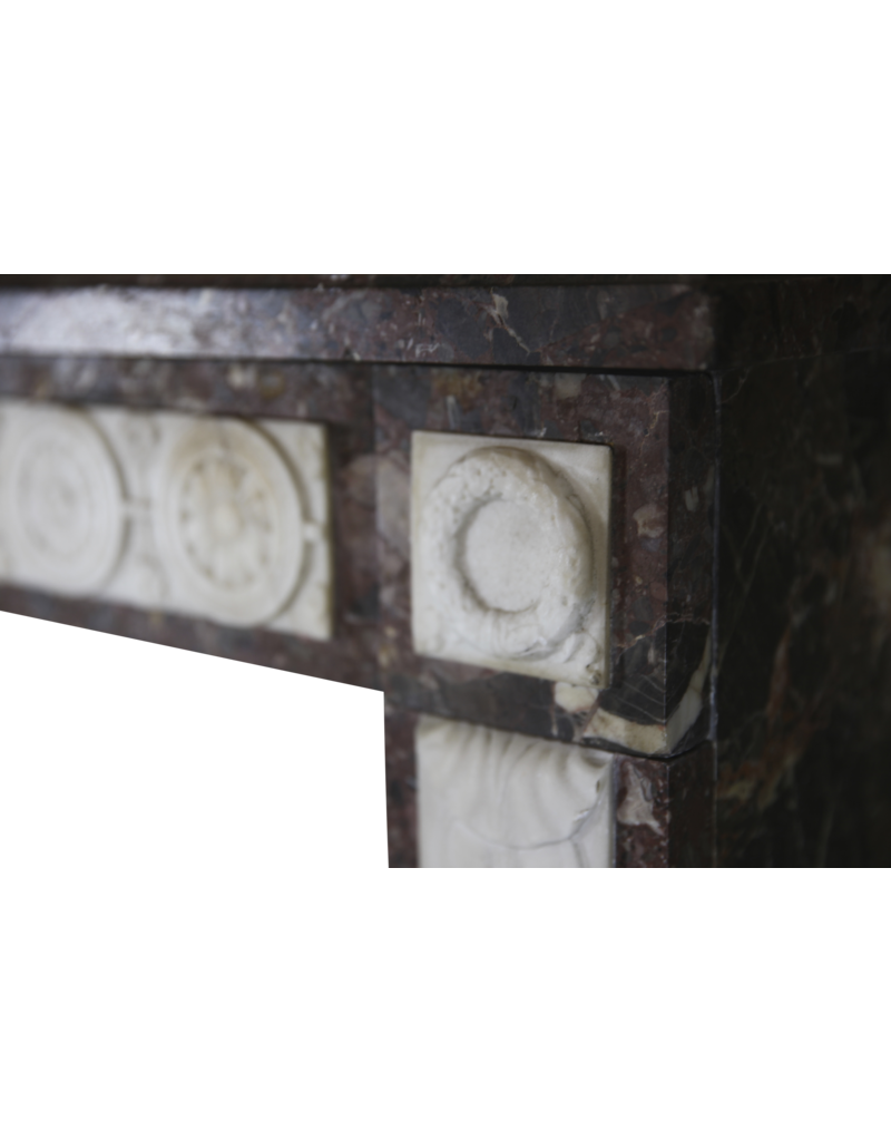 18Th Century Chique French Fireplace Surround