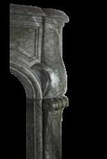 Francés Campan Vert Mármol Antiguo Chimenea
