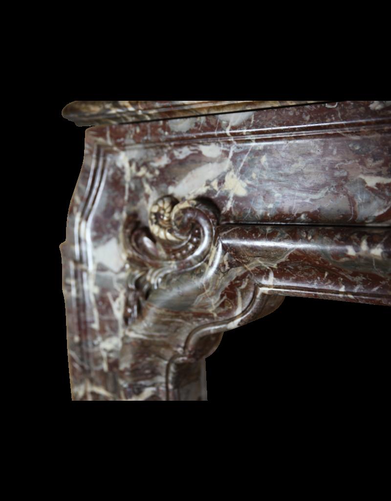 Einer Der Art Hoch Des 18. Jahrhunderts Antike Kamin