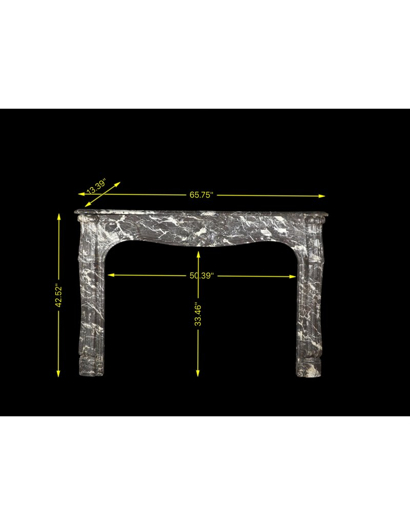 The Antique Fireplace Bank 18. Jahrhundert Chique Französisch Antike Kamin Verkleidung