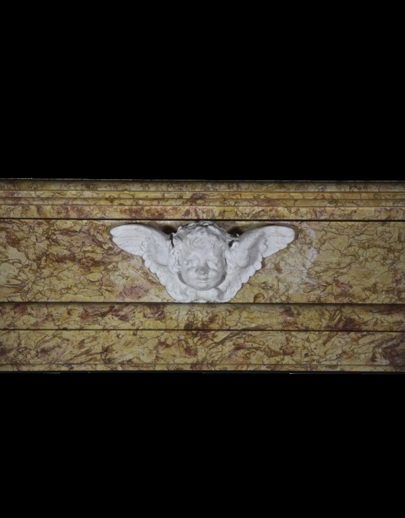 The Antique Fireplace Bank Klassische Belgische Art-Weinlese Marmor Kamin Verkleidung