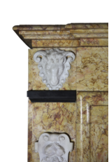 The Antique Fireplace Bank Classical Belgian Style Vintage Marble Fireplace Mantel