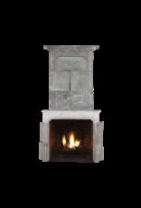 The Antique Fireplace Bank Francés Del Siglo 18 Periodo Francés País De La Piedra Caliza Chimenea Surround