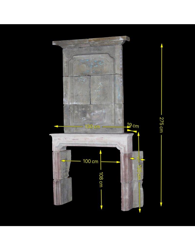 The Antique Fireplace Bank Französisch 18. Jahrhundert Periode Französisch Landstil Kalkstein Kamin Maske