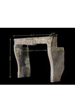 The Antique Fireplace Bank 18Th Century Fine Vintage Limestone Fireplace Surround