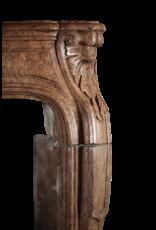 Chique Directoire Period Antique Fireplace Surround