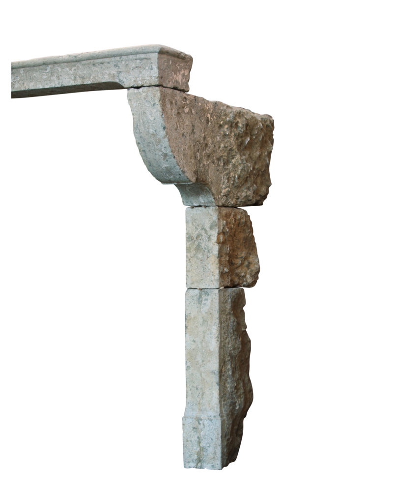 País Francés Estilo Antiguo Chimenea