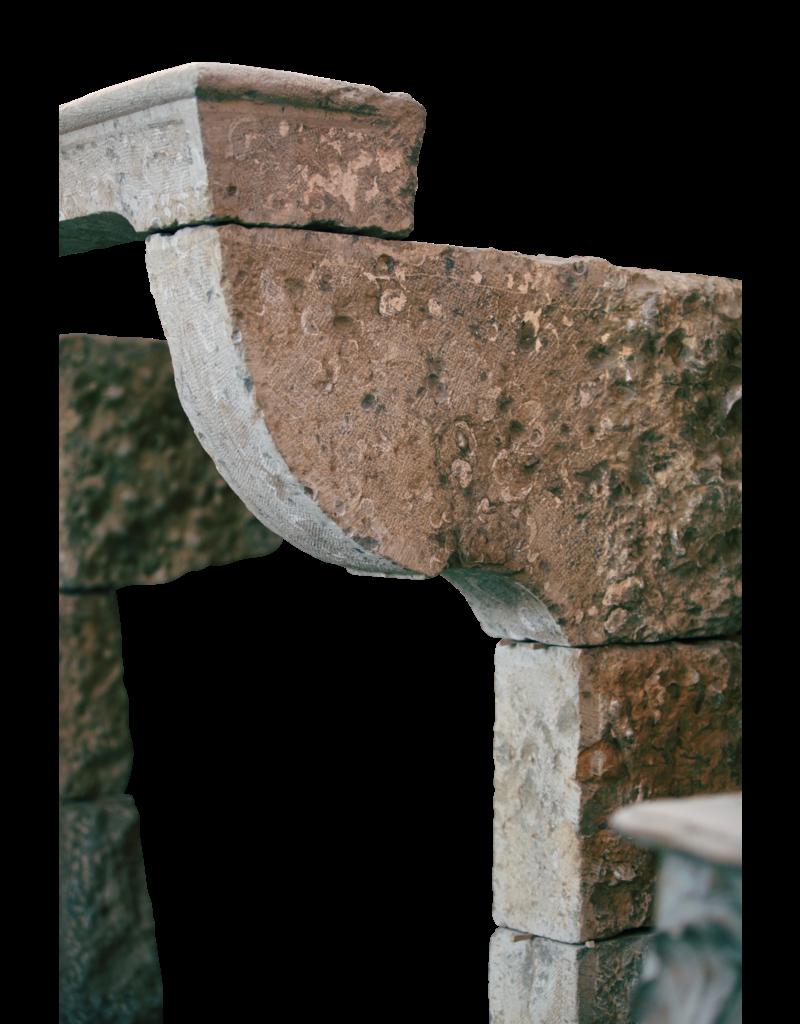 Französisch Landstil-Art-Antike Kamin Maske