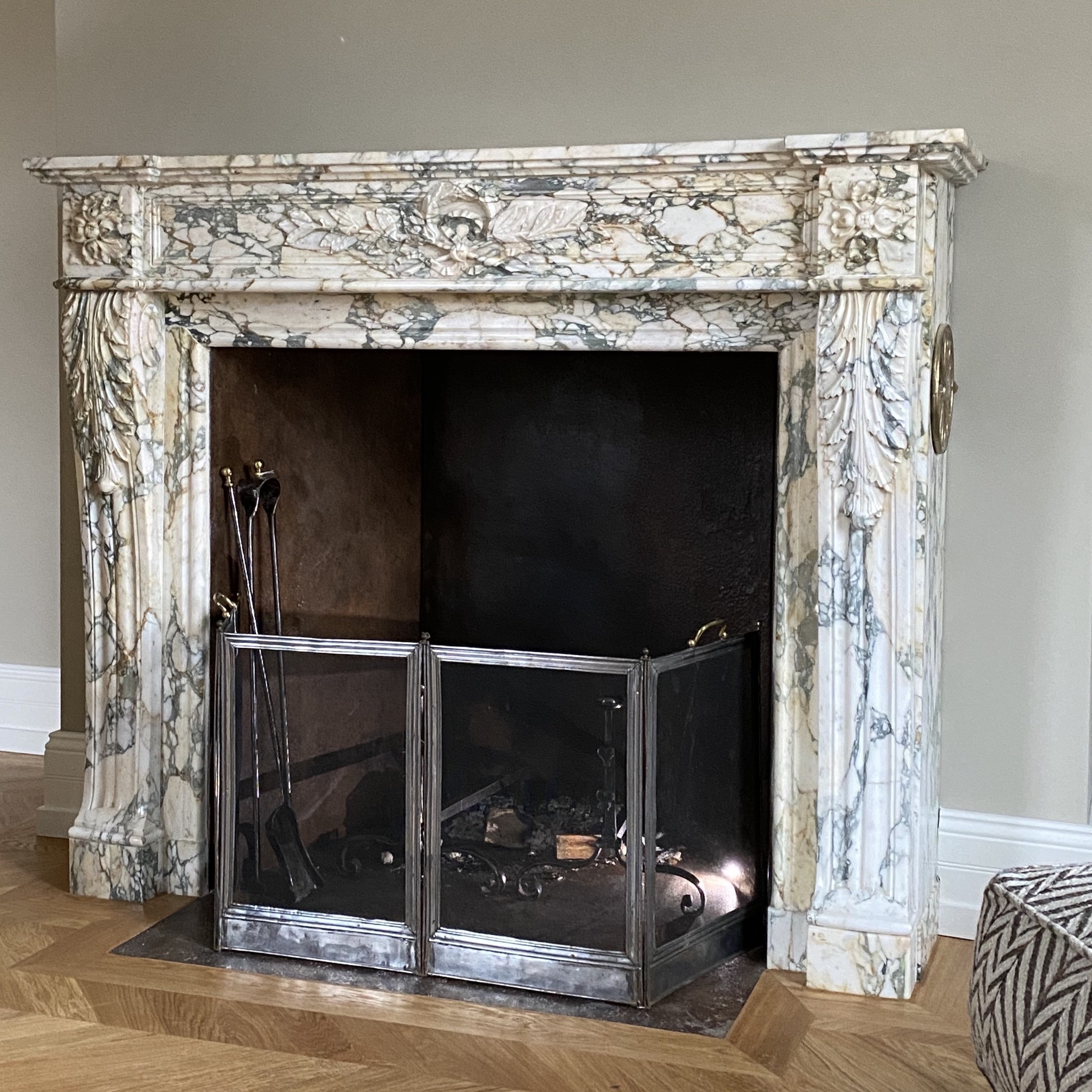 Timeless Antique Marble Fireplaces