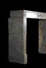 Vintage Stone Fireplace Surround Louis XVI Style