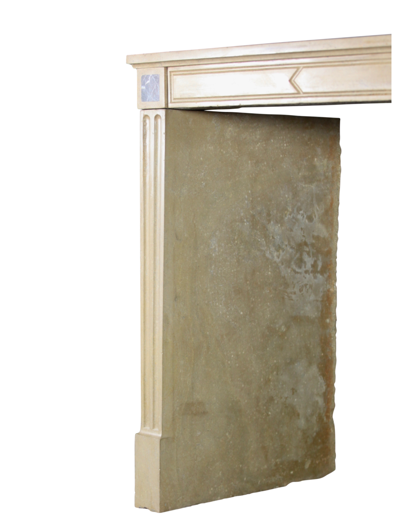 19Th Century Vintage Timeless French Fireplace Surround