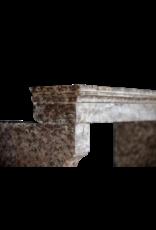 Chimenea Recuperado De Piedra Caliza De Estilo Rústico Francés