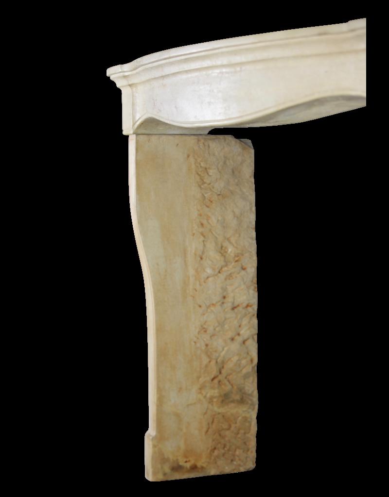 Francés Elegante Estilo Rústico Vintage Chimenea De Piedra Caliza