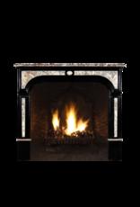 The Antique Fireplace Bank Vintage Kamin Maske Aus Schwarzem Belgischem Marmor