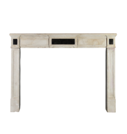 Elegant Timeless Chique French Limestone Antique Fireplace Surround