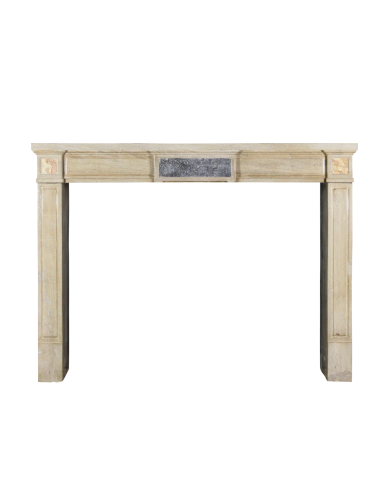 Neo Classical French Vintage Fireplace Mantle