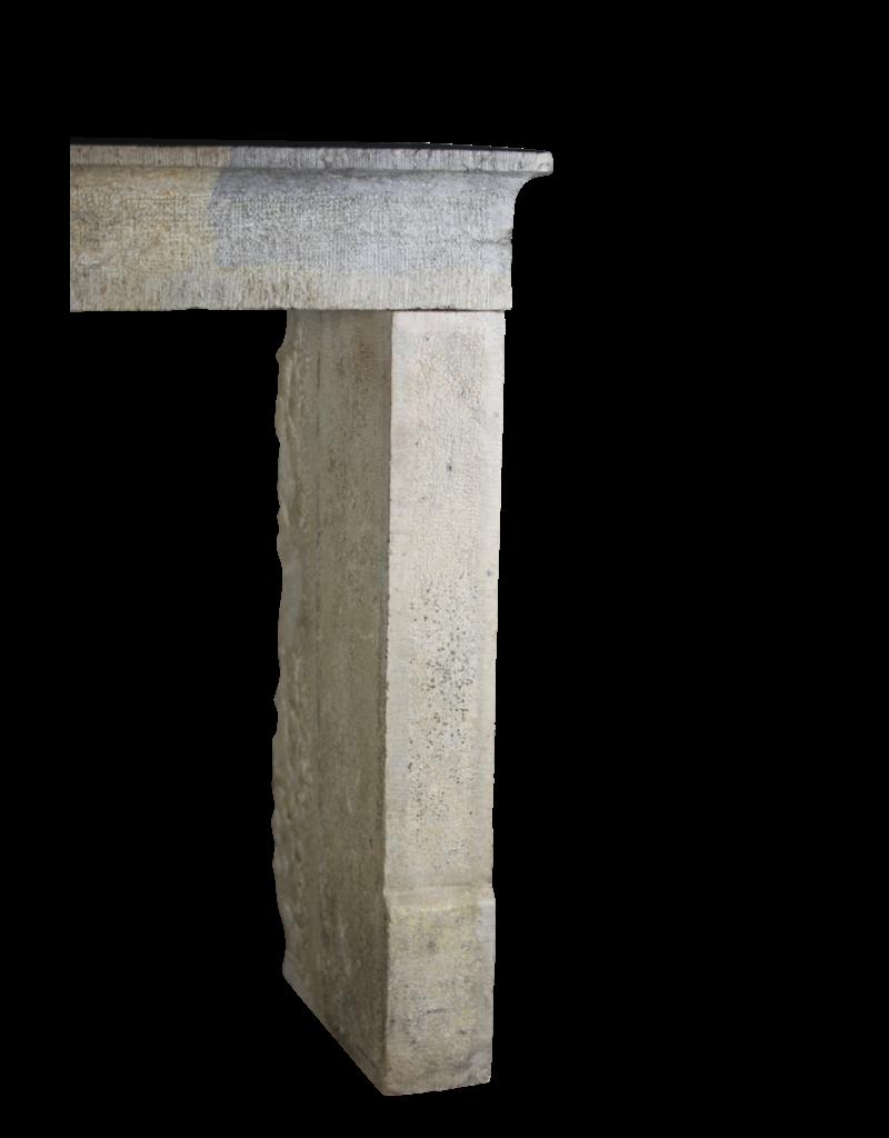 The Antique Fireplace Bank Zweifarbig Vintage Kalkstein Kamin Einfassung Im Französischen Landhausstil