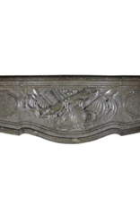 18Th Century Vintage Fireplace Surround In Stone