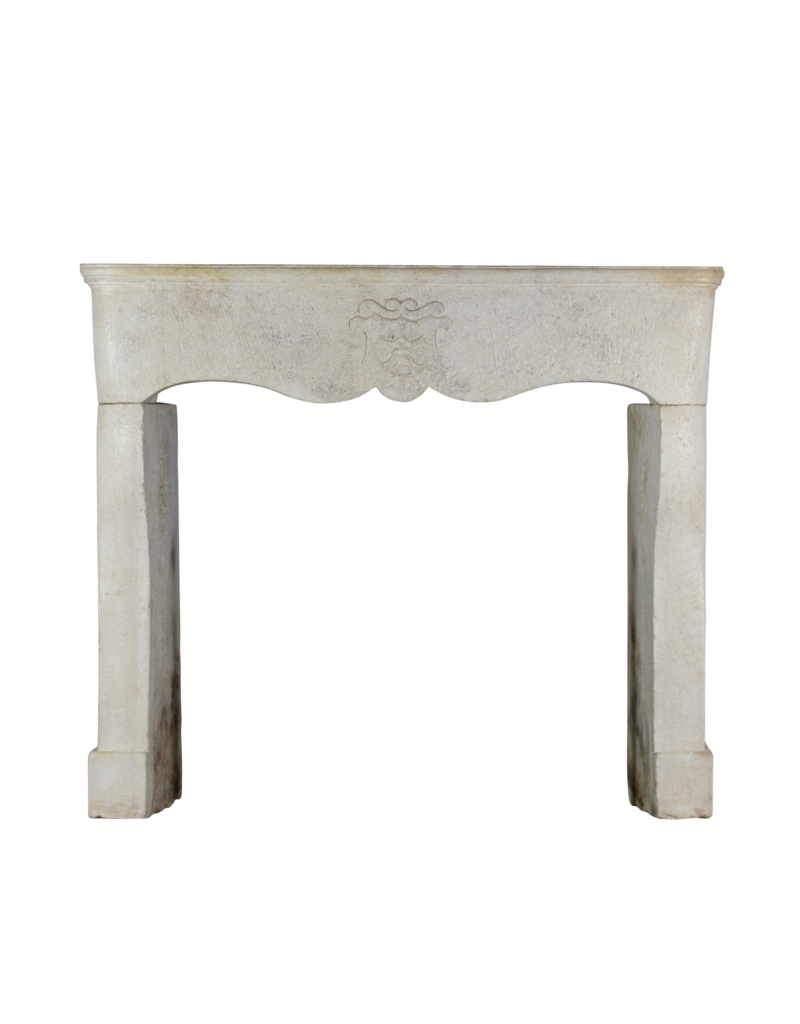 The Antique Fireplace Bank Feudal Vintage Fireplace Surround In Limestone