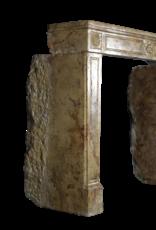 Antike Kamin Maske Aus Der Zeit Louis XVI In Marmor