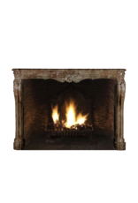One Of A Kind Antique Fireplace Surround In Stone