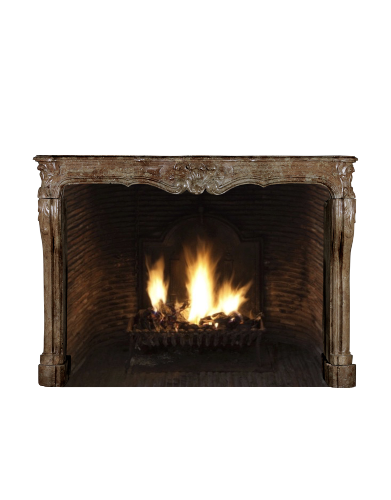 The Antique Fireplace Bank One Of A Kind Antique Fireplace Surround In Stone