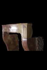 Einzigartige Französische Vintage Kamin Maske