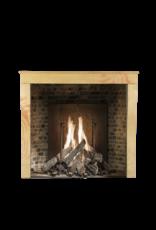 The Antique Fireplace Bank Elegante Höhe Zweifarbige Hartstein Vintage Kamin Maske