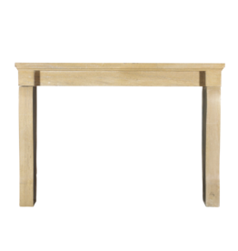 French Limestone Antique Fireplace Surround