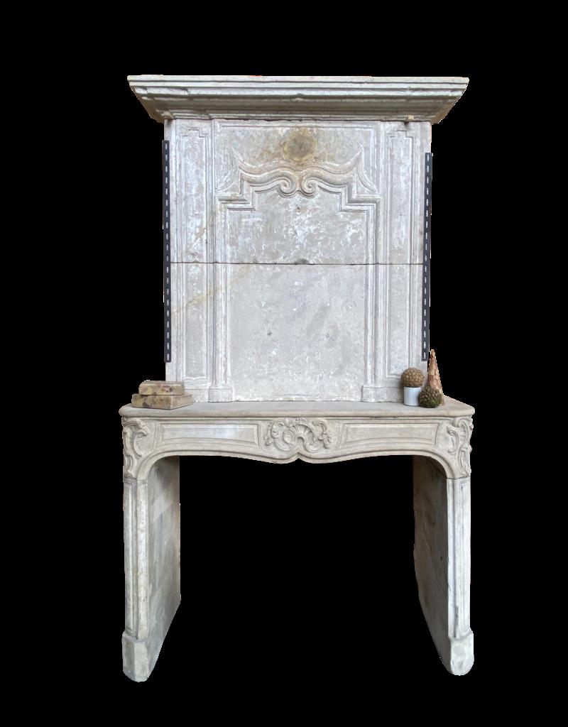 The Antique Fireplace Bank Klassische Vintage Kamin Maske Aus Kalkstein Mit Oberem Mantel