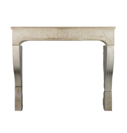 The Antique Fireplace Bank Grand French Campagnarde Fireplace Surround In Limestone