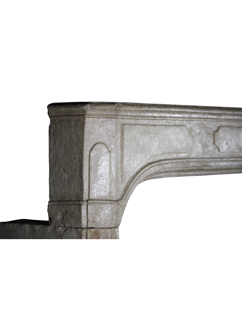 The Antique Fireplace Bank Französische Antike Kalksteinkaminverkleidung Aus Dem 18. Jahrhundert