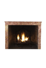 Antique Fireplace Surround In Warm Hard Stone