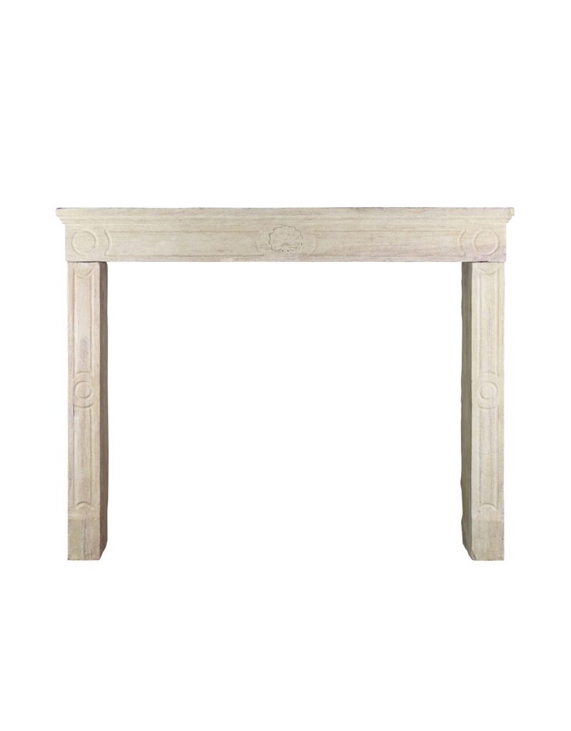 French Country Style Vintage Fireplace Surround