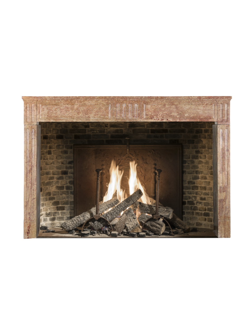 Antique Fireplace Surround In Hard Stone