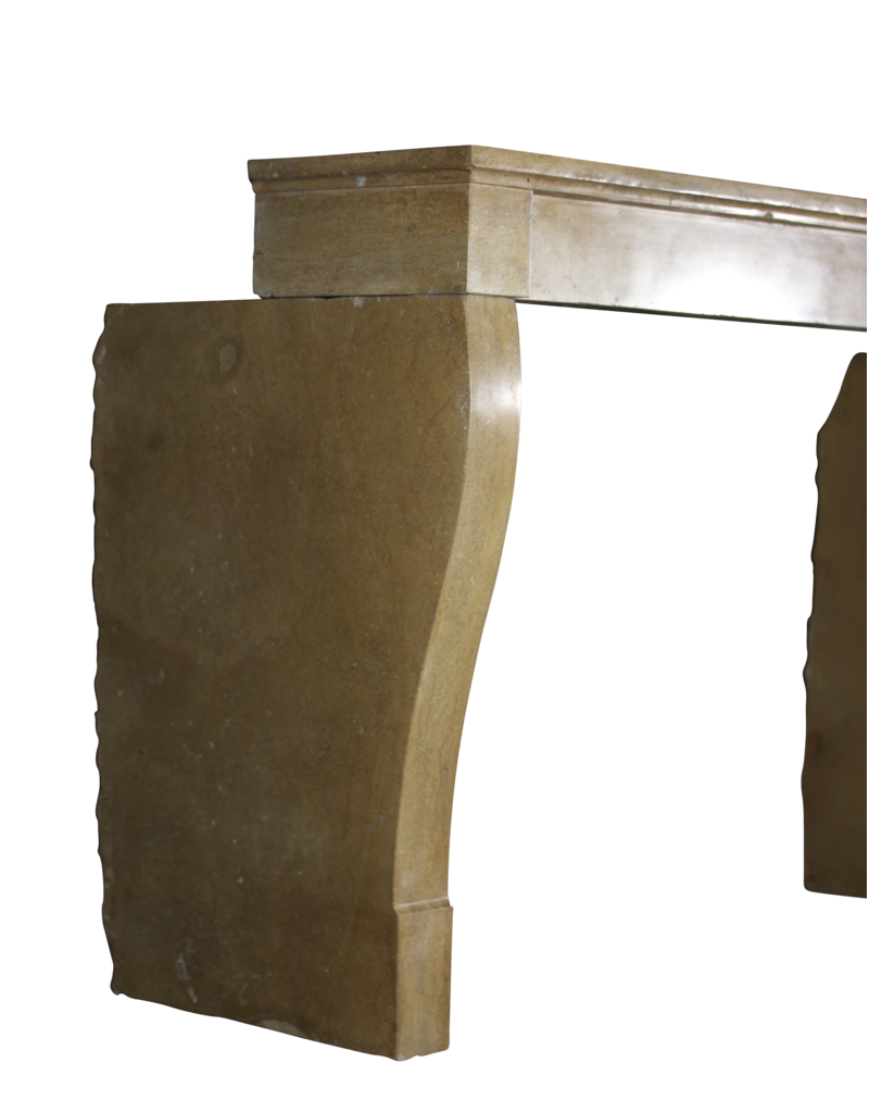 Antike Kamin Maske In Stein