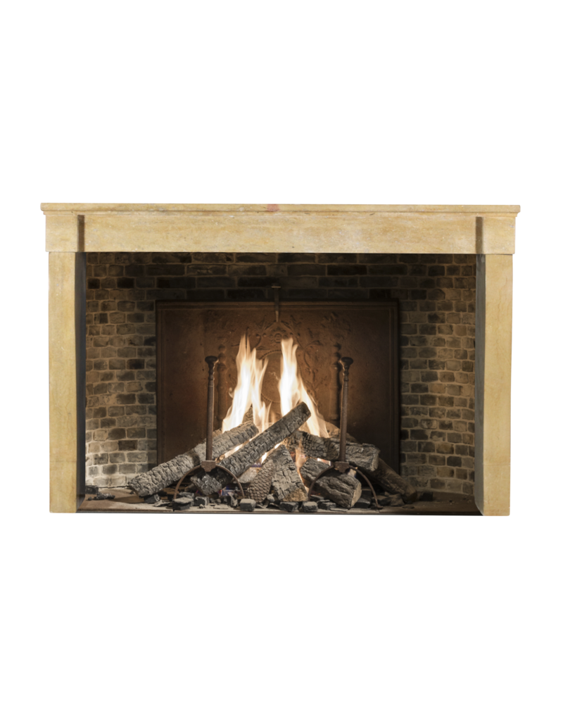 Antique Fireplace Surround In Stone