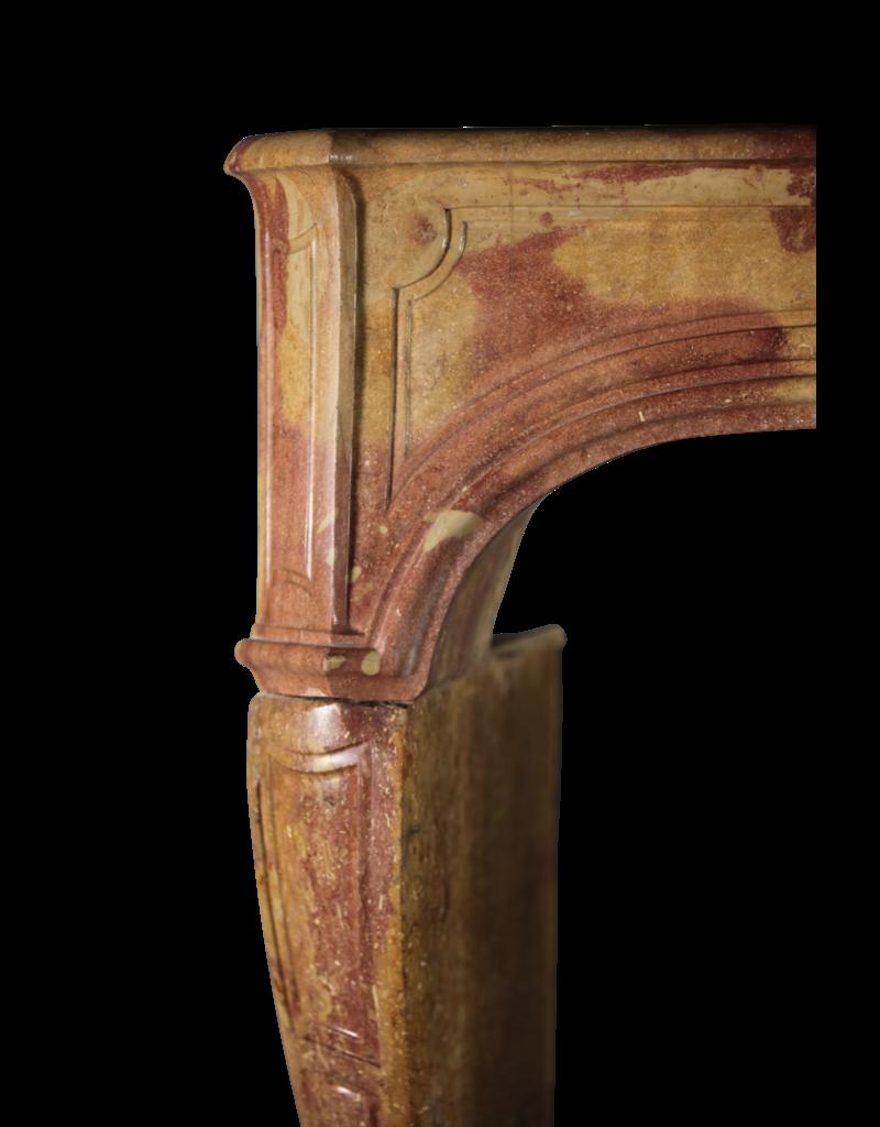 Maison Leon Van den Bogaert Antique Fireplaces & Vintage Architectural Elements Chimenea Francesa Antigua Del Siglo XVIII En Piedra Bicolor