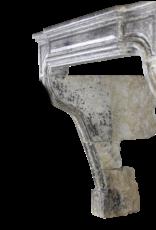 Estilo Rústico Atemporal Francés Chimenea Vintage De Piedra Caliza