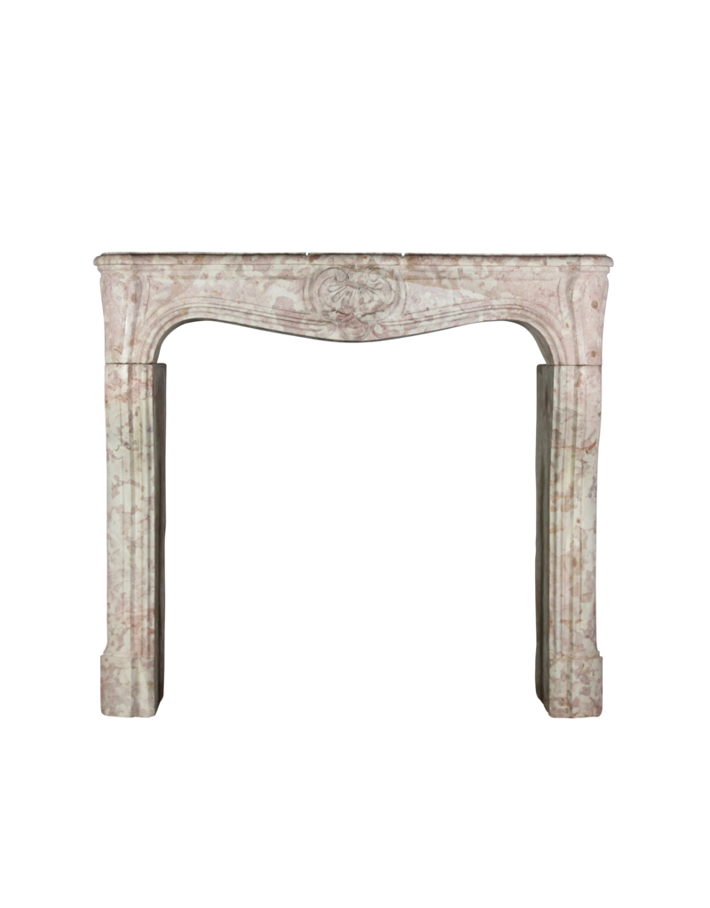 Antique Fireplace Surround In French Hard Stone