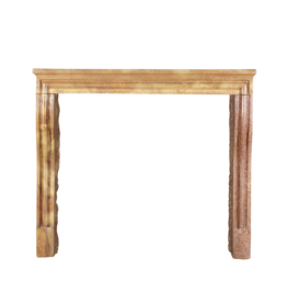 The Antique Fireplace Bank French Antique Fireplace Surround In Bicolor Stone